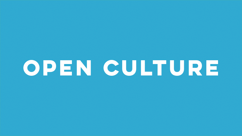 Open Culture Great source of cultural and educational media on the web