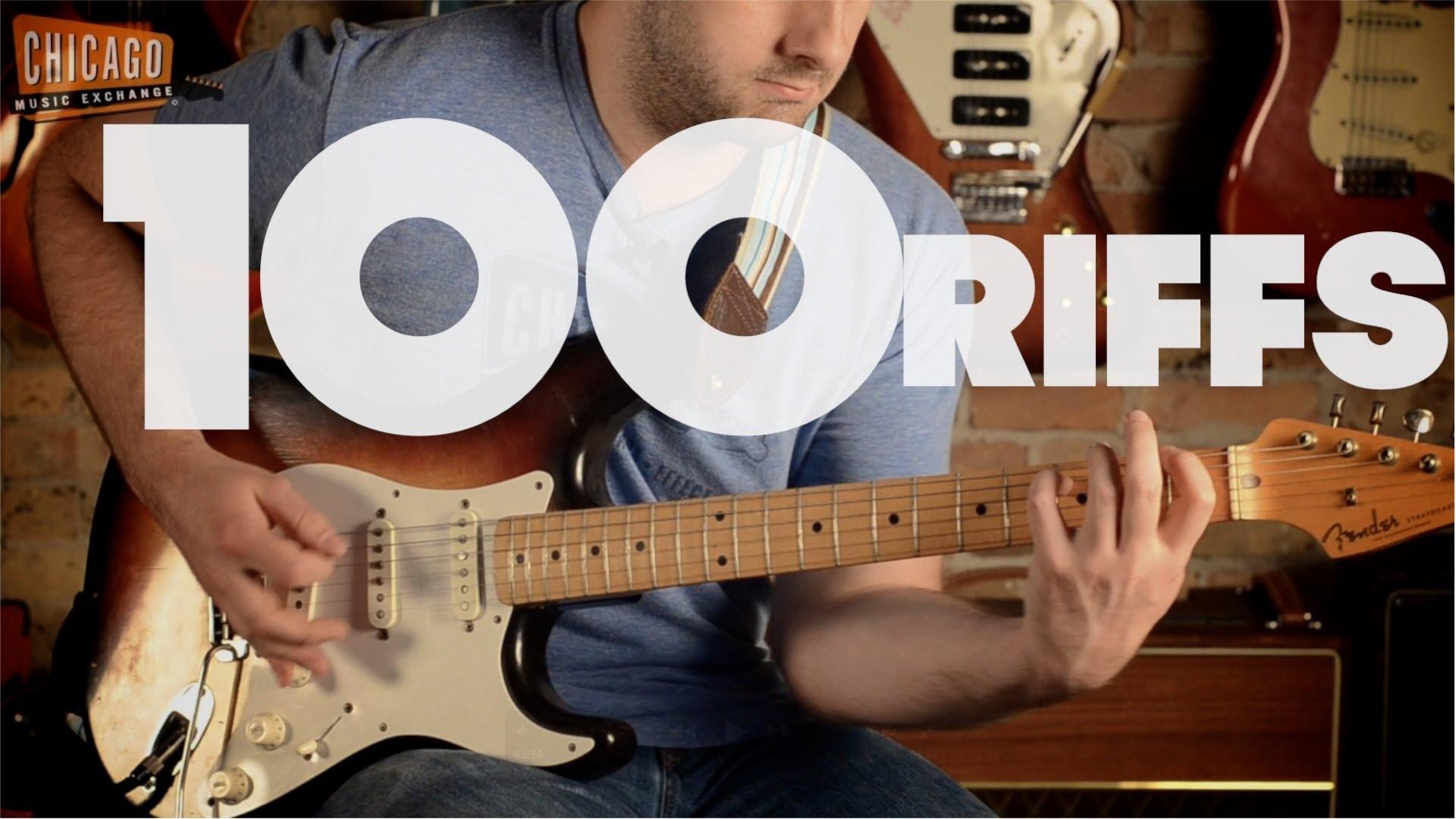 A History of Rock 'n' Roll in 100 Riffs