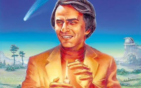 """Carl Sagan Predicts the Decline of America: Unable to Know """"What's True,"""" We Will Slide, """"Without Noticing, Back into Superstition & Darkness"""" (1995)"""