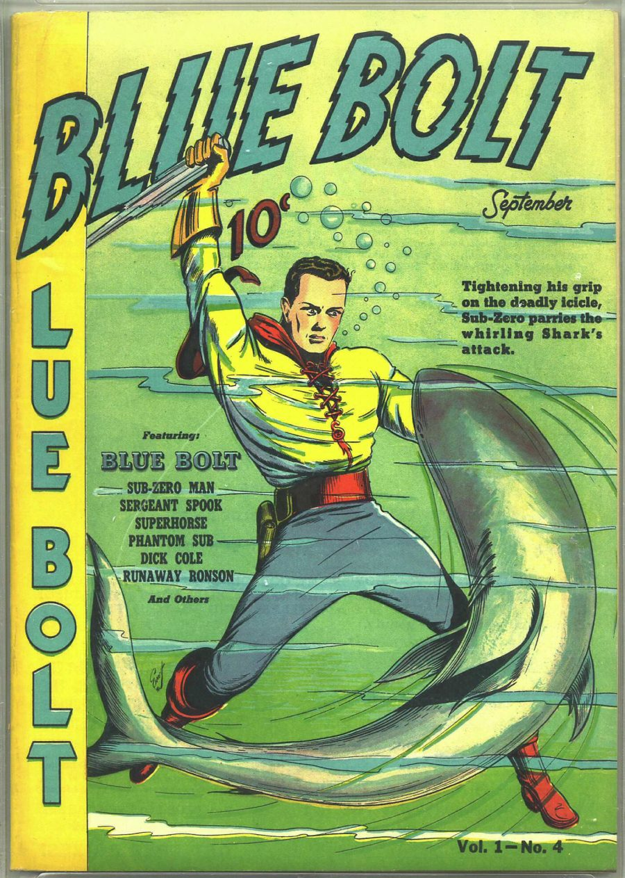 Download 15,000+ Free Golden Age Comics from the Digital Comic Museum Artes & contextos blue bolt 1 e1512063746663