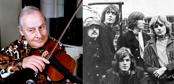 """Hear Lost Recording of Pink Floyd Playing with Jazz Violinist Stéphane Grappelli on """"Wish You Were Here"""""""