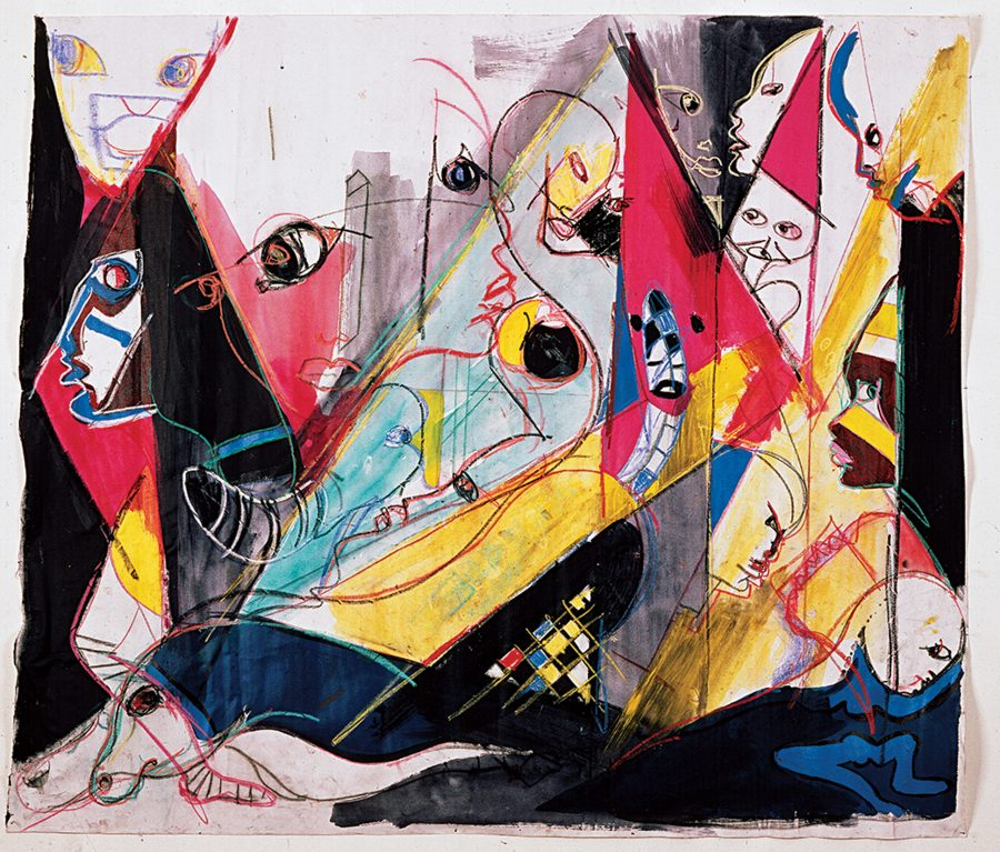 The Paintings of Miles Davis: Discover Visual Art Inspired by Kandinsky, Basquiat, Picasso, and Joni Mitchell