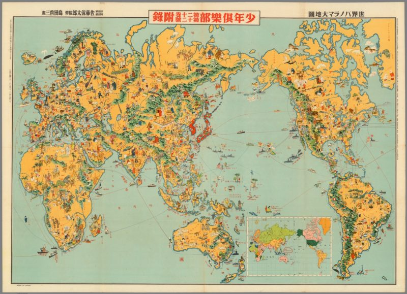 Download 67,000 Historic Maps (in High Resolution) from the