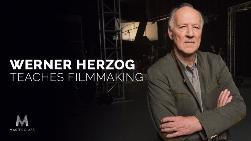 Werner Herzog Teaches His First Online Course on Filmmaking