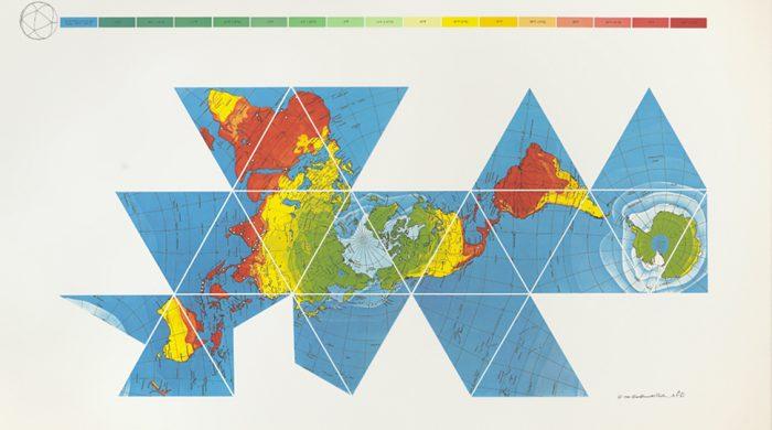 Buckminster Fuller S Map Of The World The Innovation That