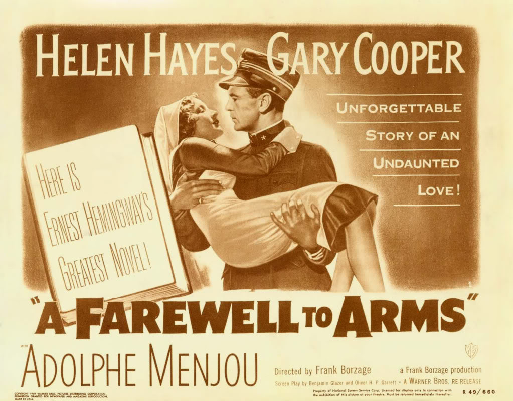 a farewell to arms helen hayes gary cooper the oscar  a farewell to arms helen hayes gary cooper the oscar winning 1932 film open culture