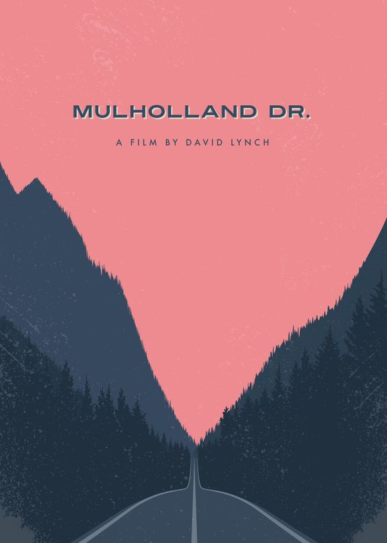 Graphic Designer Redesigns a Movie Poster Every Day, for One Year: Scarface, Mulholland Dr., The Graduate, Vertigo, The Life Aquatic and 360 More Artes & contextos movie a day lynch