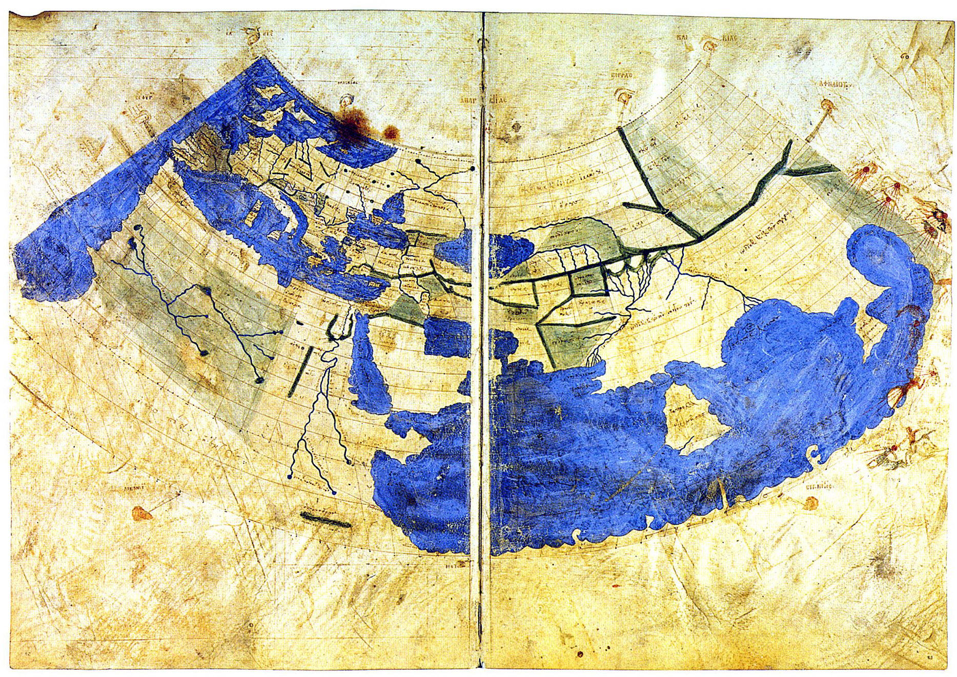 Ancient maps that changed the world see world maps from ancient ancient maps that changed the world see world maps from ancient greece babylon rome and the islamic world open culture gumiabroncs Images