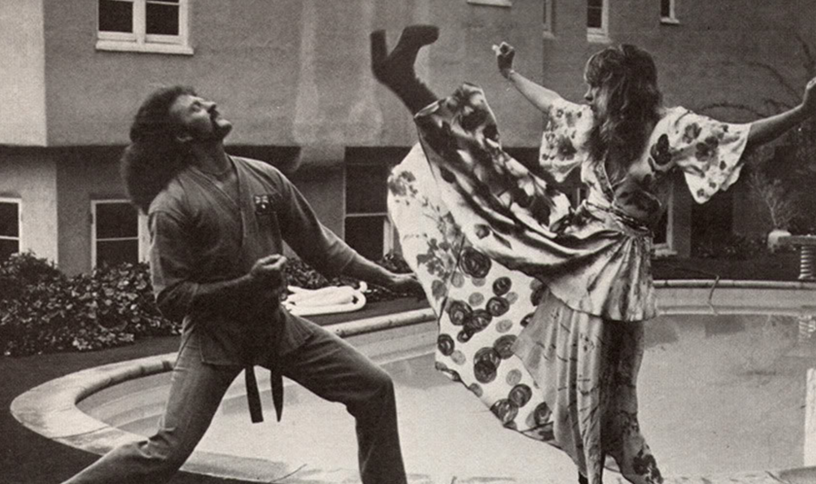 "Stevie Nicks ""Shows Us How to Kick Ass in High-Heeled Boots"" in a 1983  Women's Self Defense Manual 