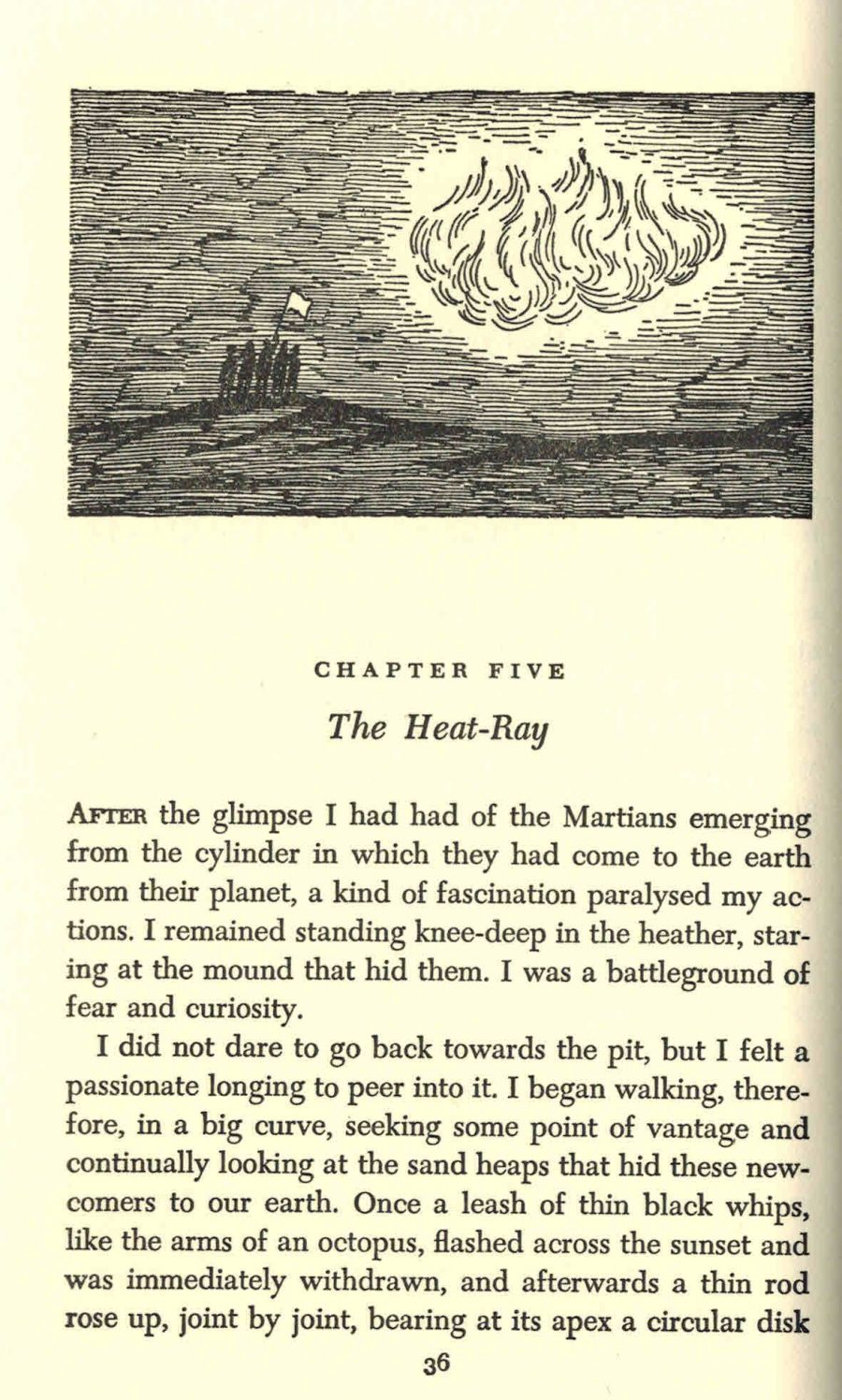 Edward Gorey Illustrates H.G. Wells' The War of the Worlds in His Inimitable Gothic Style (1960) Artes & contextos Wells2 e1494910071409