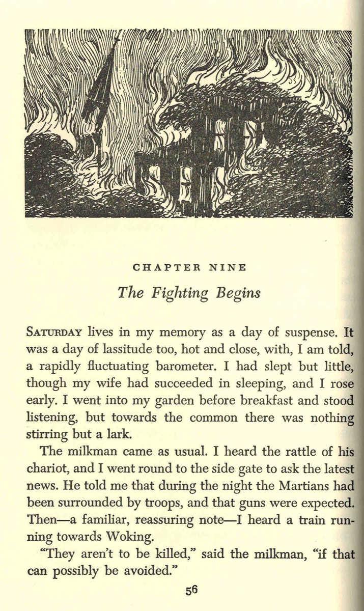 Edward Gorey Illustrates H.G. Wells' The War of the Worlds