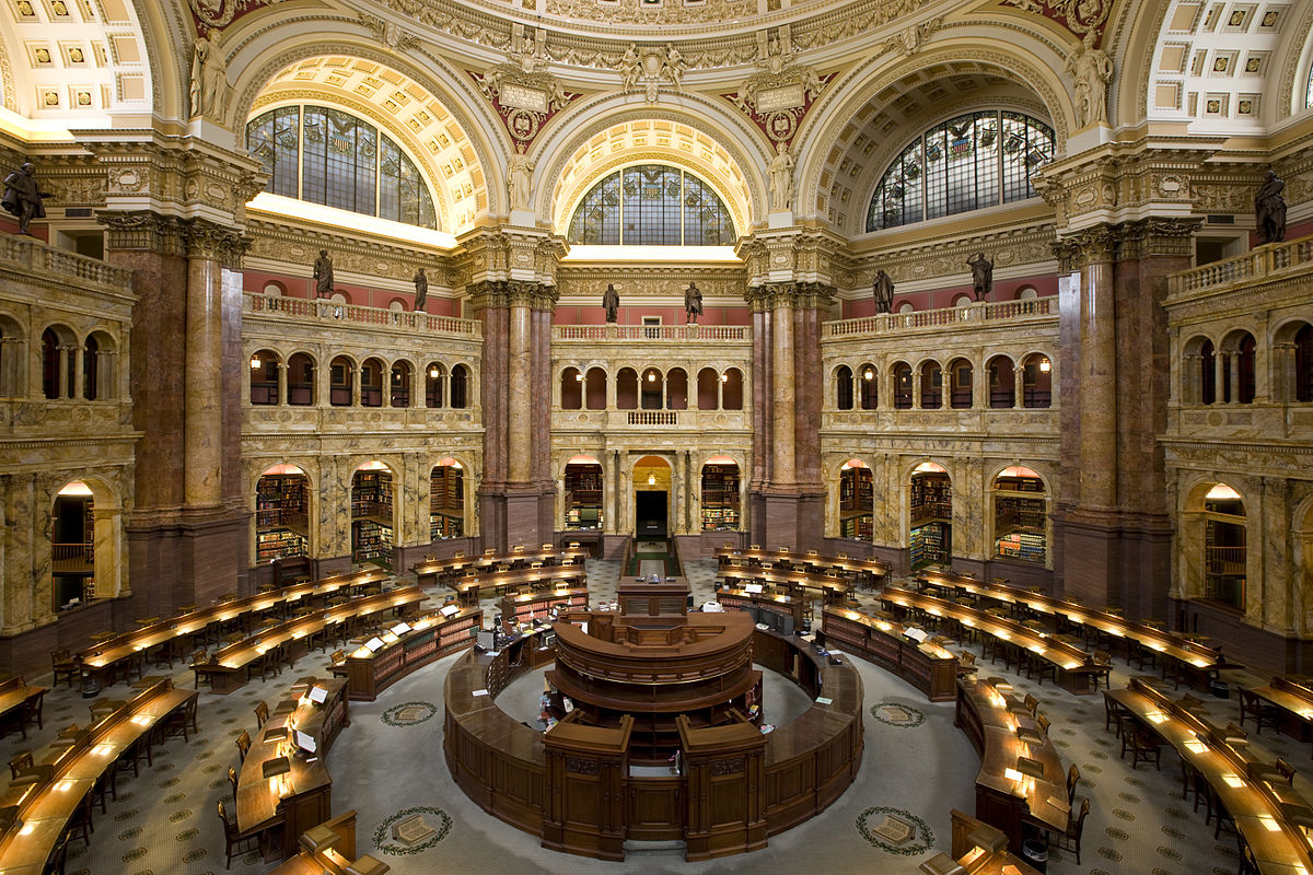 The Library of Congress Makes 25 Million Records From Its Catalog Free to Download