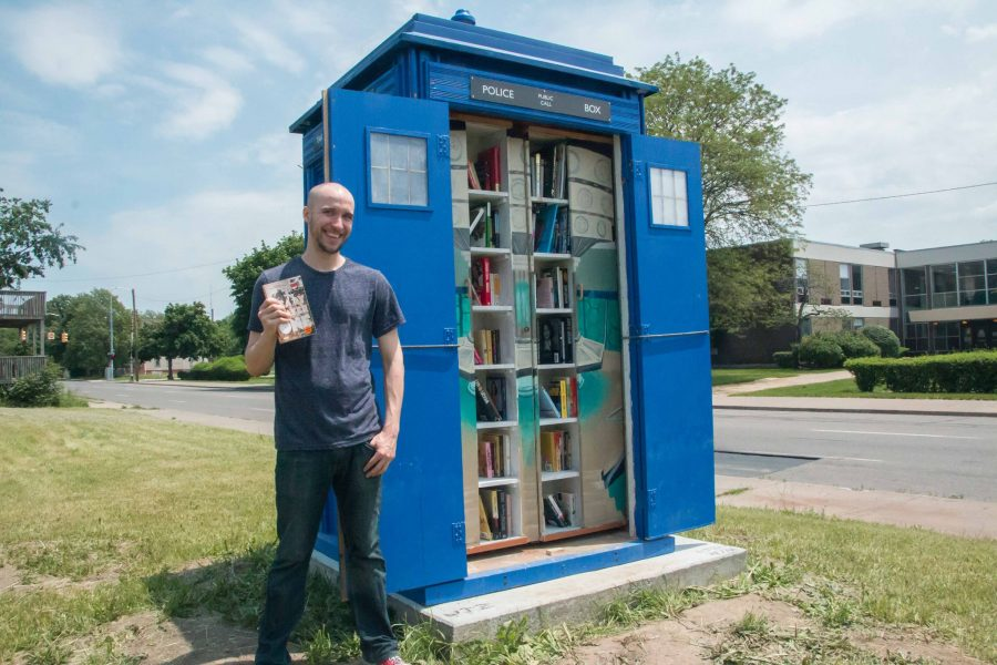 Free Libraries Shaped Like Doctor Who's Time-Traveling TARDIS Pop Up in Detroit, Saskatoon, Macon & Other Cities