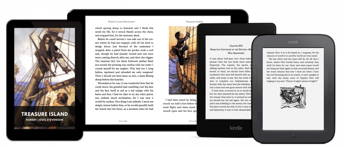 Free eBooks with Modern Typography & Nice Formatting, All