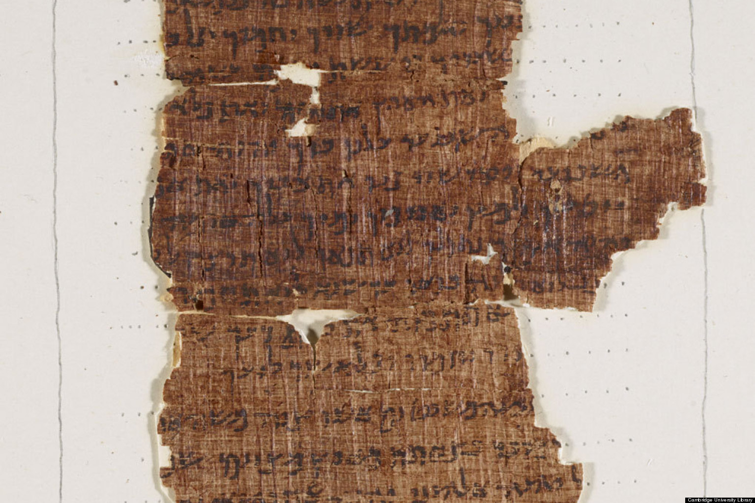 """2,000-Year-Old Manuscript of the Ten Commandments Gets Digitized: See/Download """"Nash Papyrus"""" in High Resolution"""