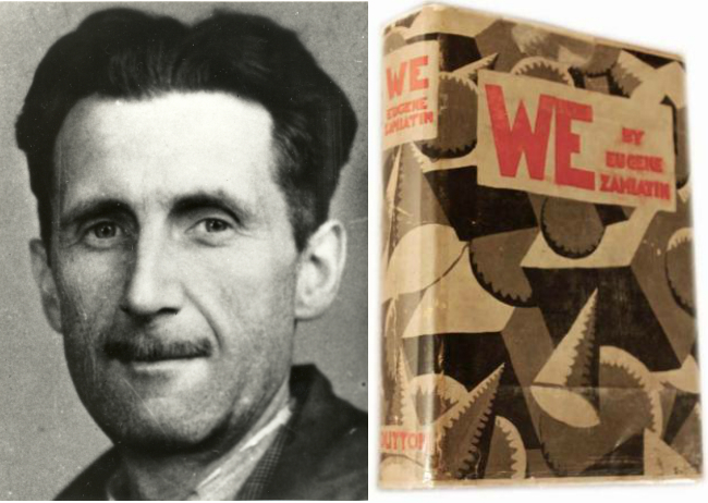 "George Orwell Reviews We, the Russian Dystopian Novel That Noam Chomsky Considers ""More Perceptive"" Than Brave New World & 1984"