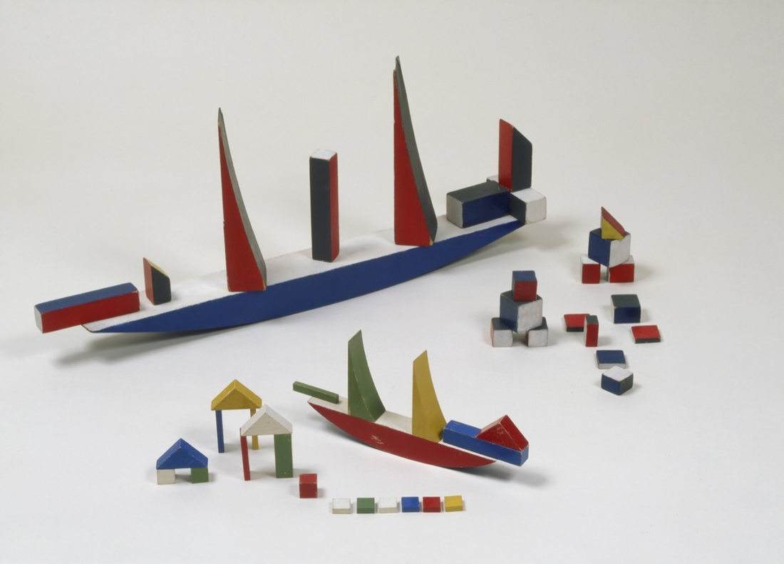 Bauhaus Building Blocks