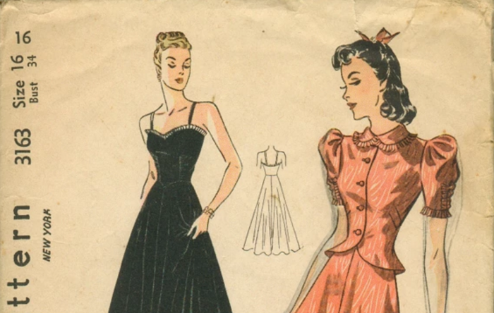 Browse a Collection of Over 83,500 Vintage Sewing Patterns