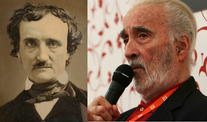 Christopher Lee Reads Four Classic Horror Stories by Edgar Allan Poe (1979)