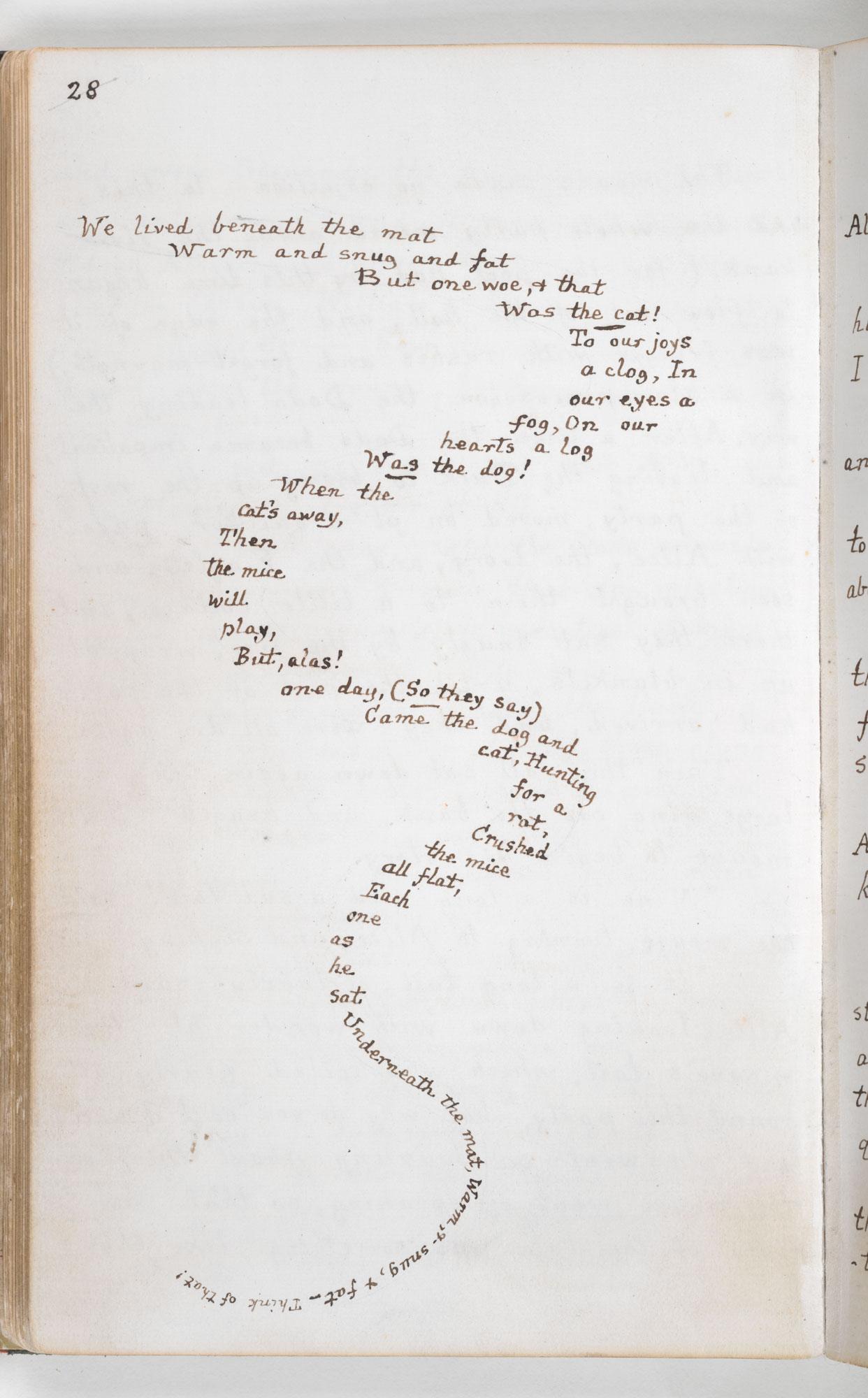 Lewis Carroll's Original Handwritten & Illustrated Manuscript for Alice's Adventures in Wonderland (1864) Artes & contextos Carrolls Alice 3