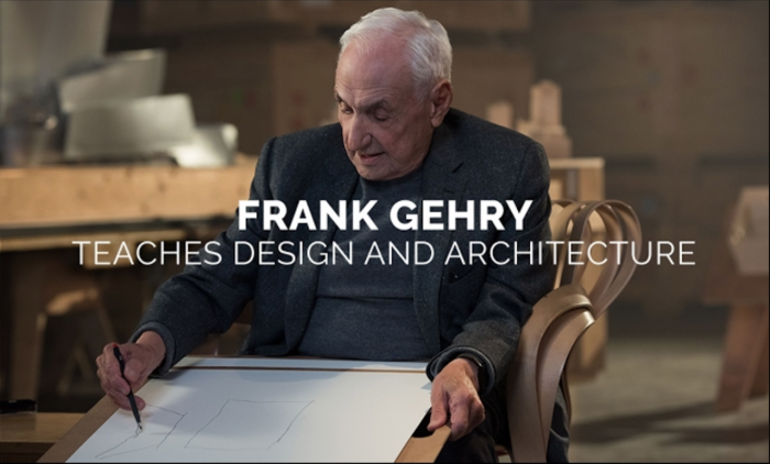 Take an Online Course on Design & Architecture with Frank Gehry