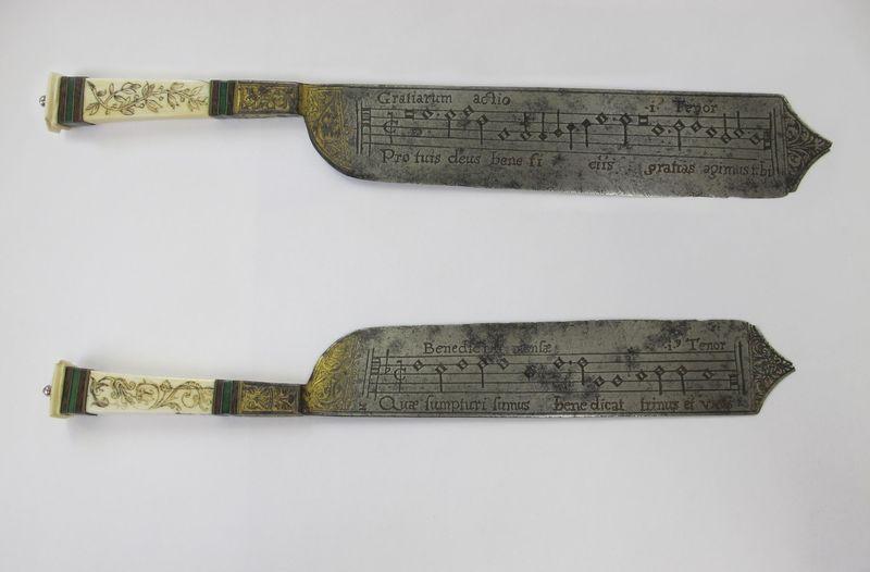 Renaissance Knives Had Music Engraved on the Blades; Now Hear the Songs Performed by Modern Singers