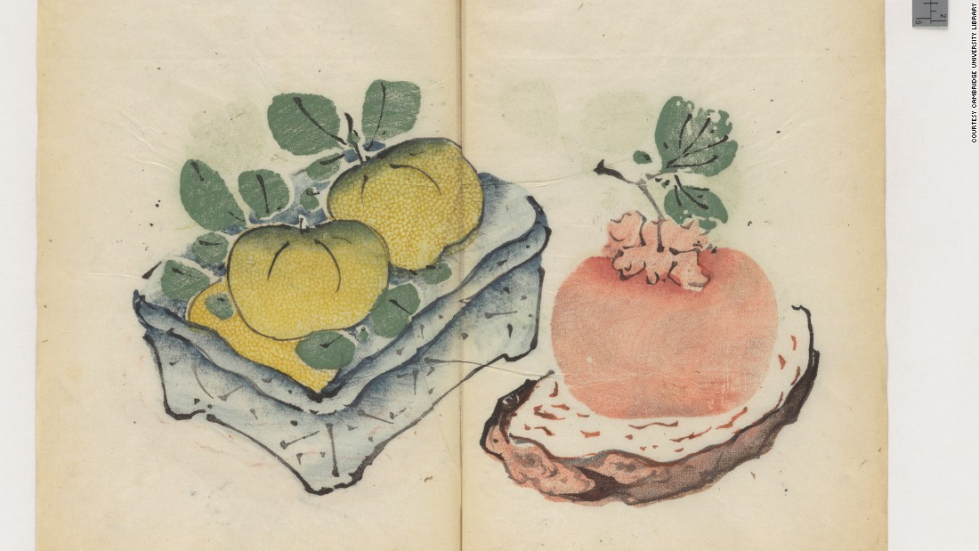 The World's Oldest Multicolor Book, a 1633 Chinese Calligraphy & Painting Manual, Now Digitized and Put Online Artes & contextos Oldest Color Book 4