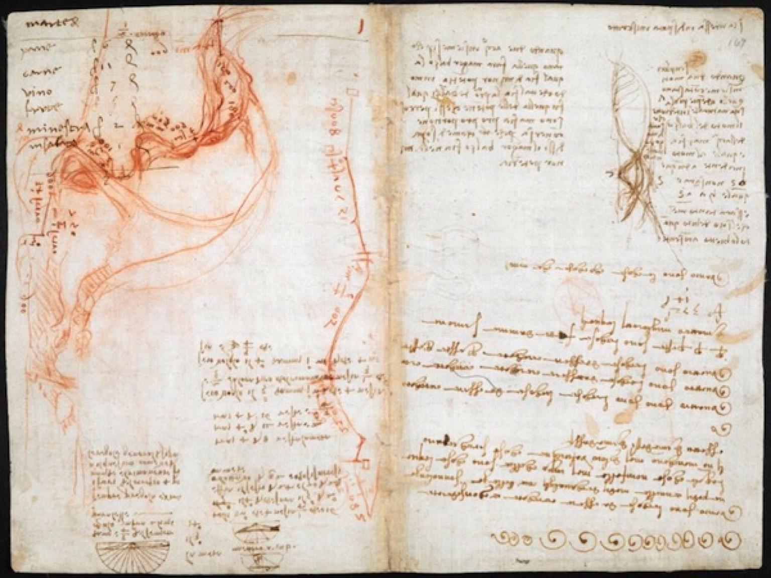 Leonardo da Vinci's Visionary Notebooks Now Online: Browse 570 Digitized Pages Artes & contextos o DAVINCIDIARIES facebook
