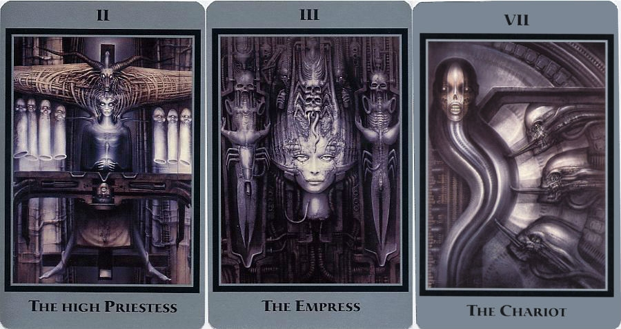 H.R. Giger's Tarot Cards: The Swiss Artist, Famous for His Design Work on Alien, Takes a Journey into the Occult