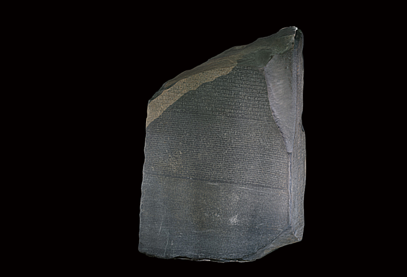 The British Museum Creates 3D Models of the Rosetta Stone & 200+ Other Historic Artifacts: Download or View in Virtual Reality