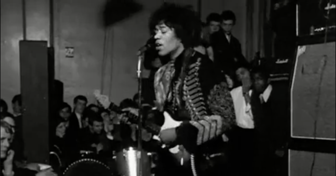 Watch the Earliest Known Footage of the Jimi Hendrix Experience (February, 1967)