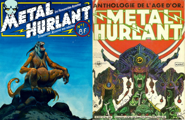 Métal hurlant: The Hugely Influential French Comic Magazine That Put Moebius on the Map & Changed Sci-Fi Forever