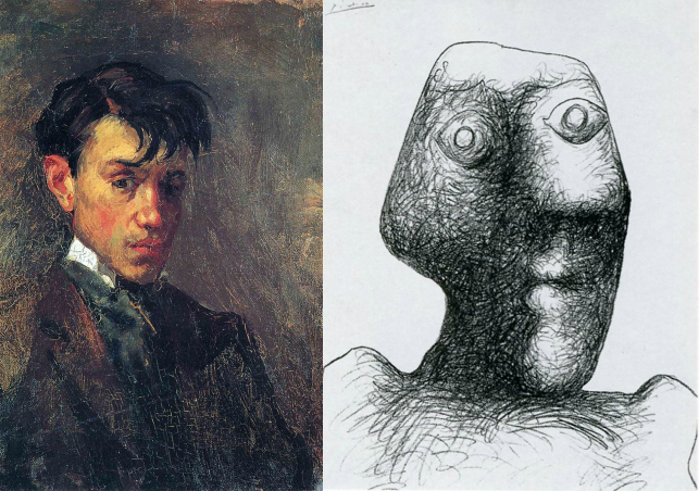 14 Self-Portraits by Pablo Picasso Show the Evolution of His Style: See Self-Portraits Moving from Ages 15 to 90
