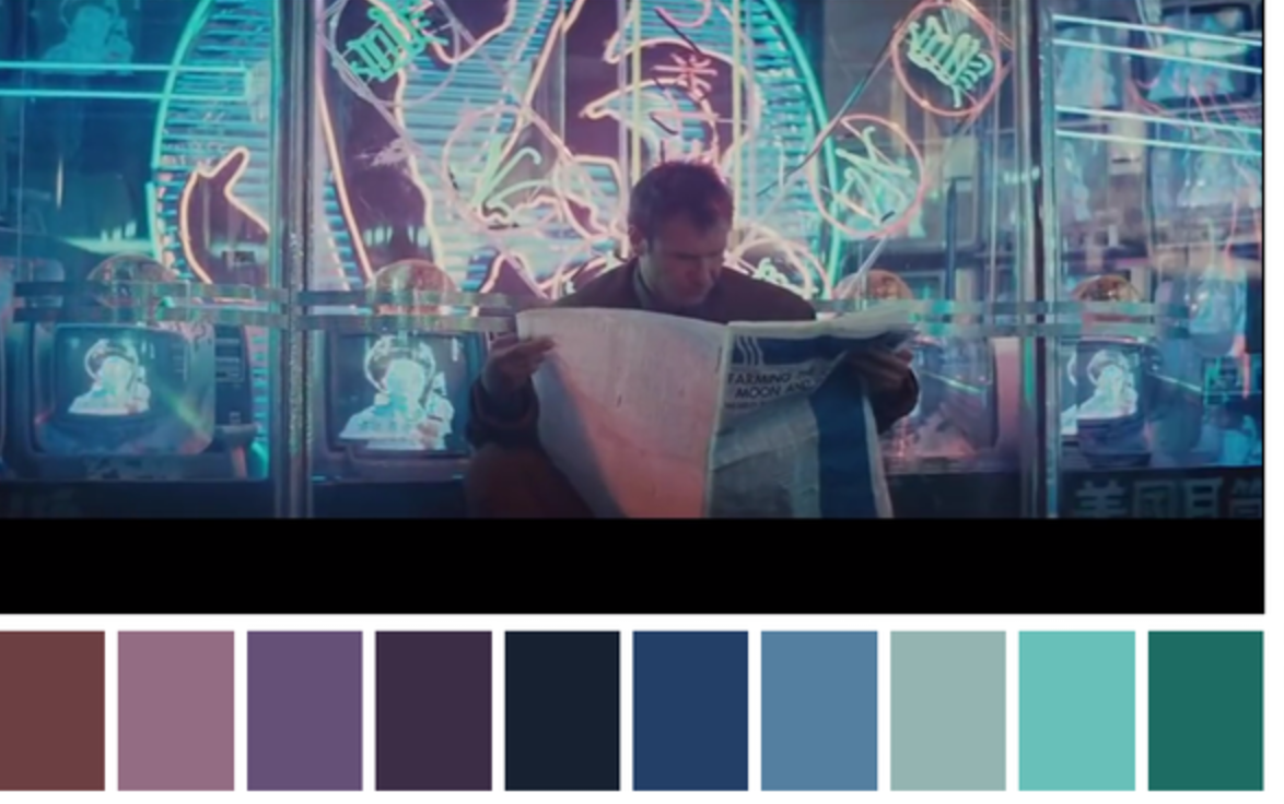 The Color Palettes of Your Favorite Films: The Royal