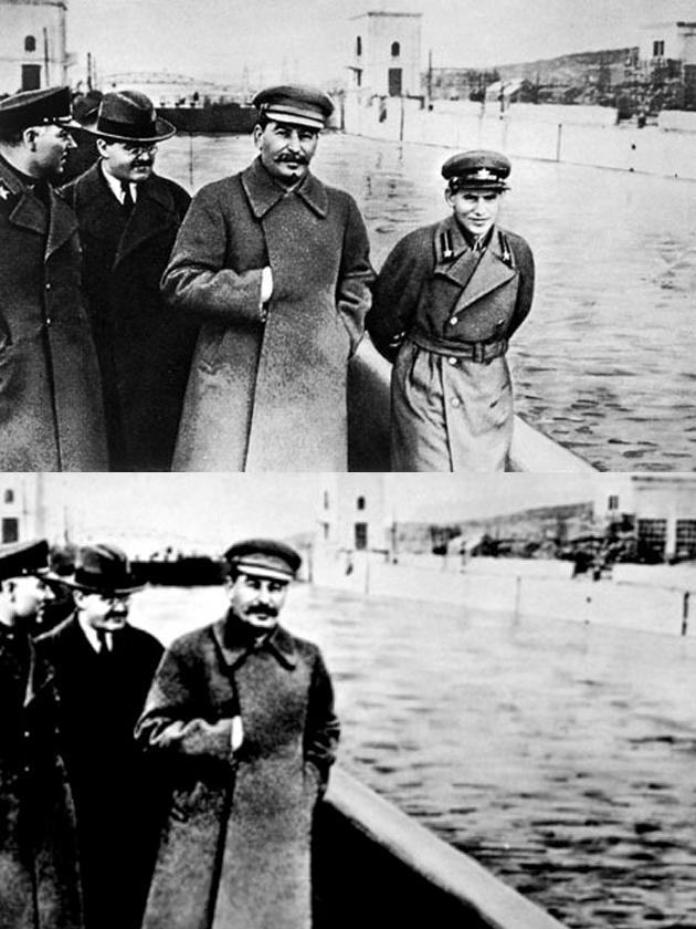 Image result for stalin erases