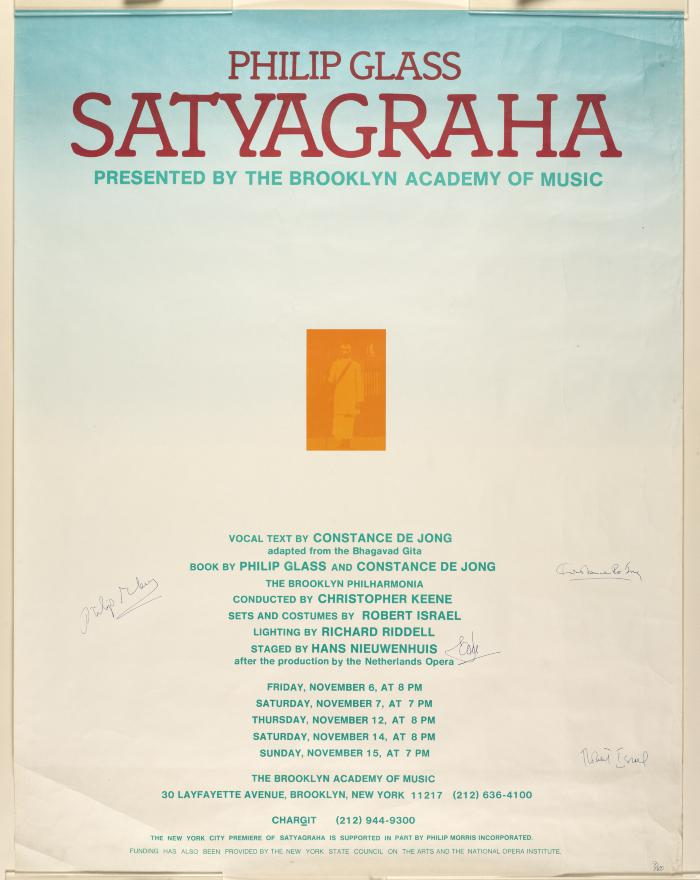 Brooklyn Academy of Music Puts Online 70,000 Objects Documenting the History of the Performing Arts Artes & contextos 1981f 00330 poster