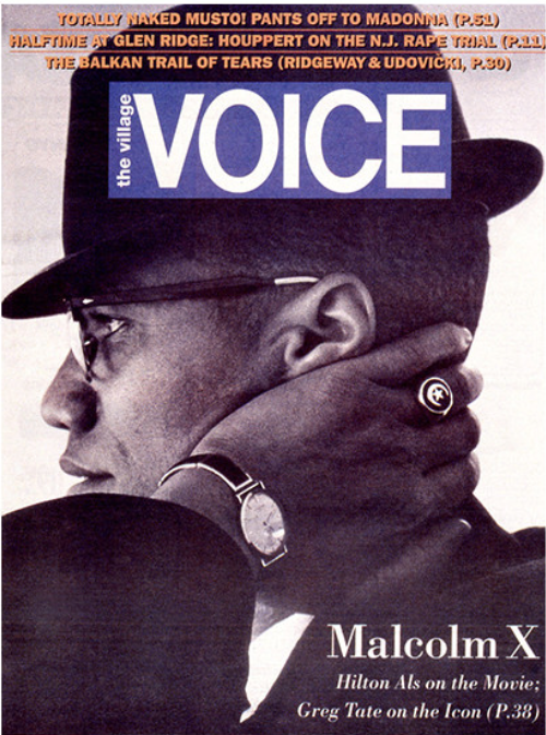 The Village Voice Illustrated Cover