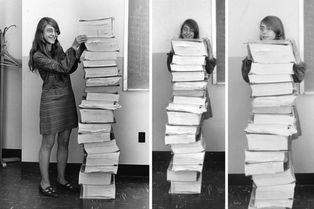 margaret hamilton lead software engineer of the apollo project
