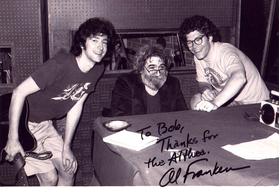 Al Franken Provides Comic Relief At The Grateful Deads 1980 - Al-franken-draws-us-map