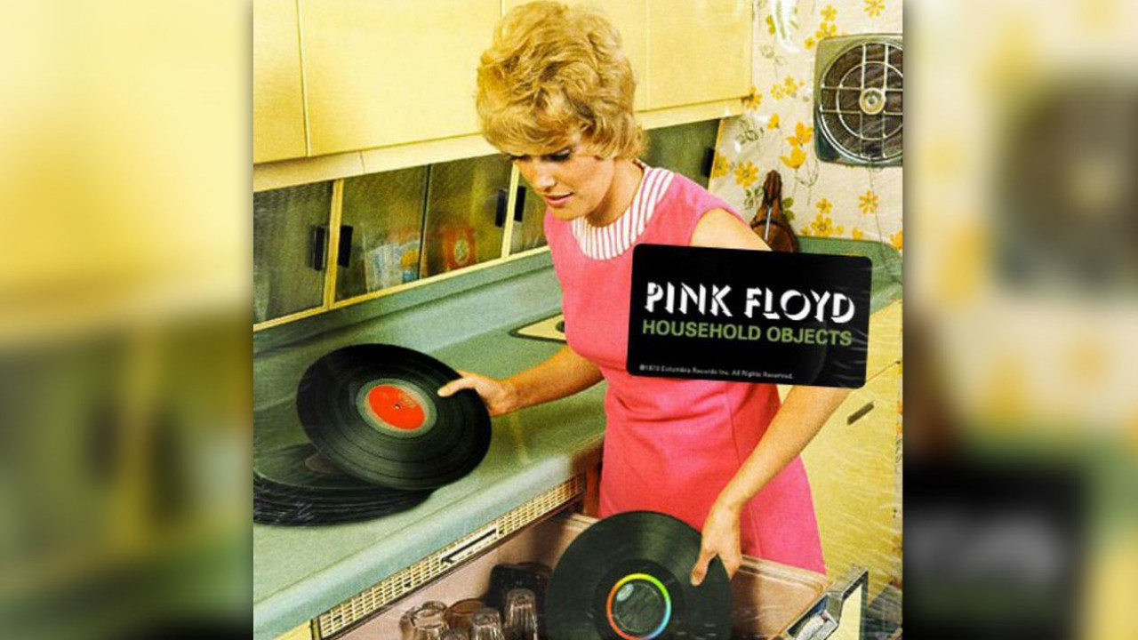 When Pink Floyd Tried to Make an Album with Household Objects: Hear Two Surviving Tracks Made with Wine Glasses & Rubber Bands