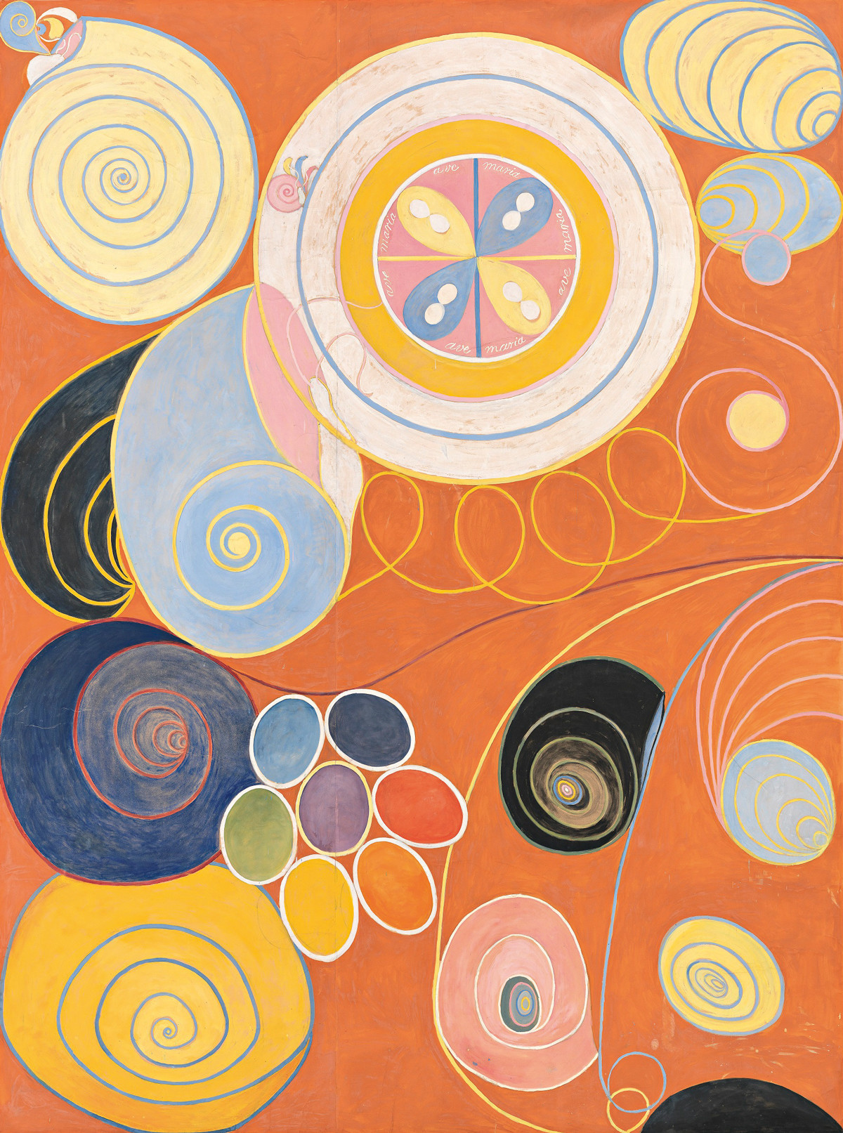 Who Painted the First Abstract Painting?: Wassily Kandinsky? Hilma af Klint? Or Another Contender? Artes & contextos hilma af klint group iv no 3 the ten largest youth 1907 trivium art history