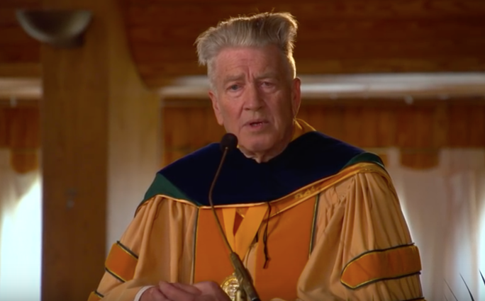 David lynch gives unconventional advice to graduates in an unusual david lynch gives unconventional advice to graduates in an unusual commencement address open culture publicscrutiny Choice Image