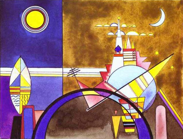 Wassily Kandinsky Syncs His Abstract Art To Mussorgsky S