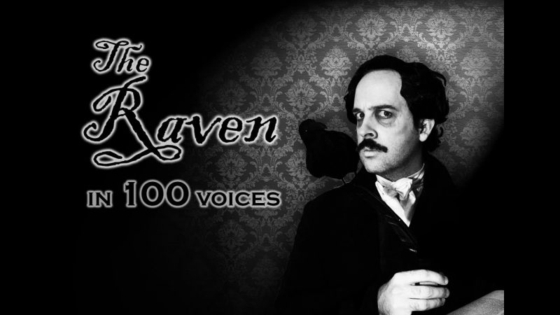Resultado de imagen para the raven in 100 voices by jordan