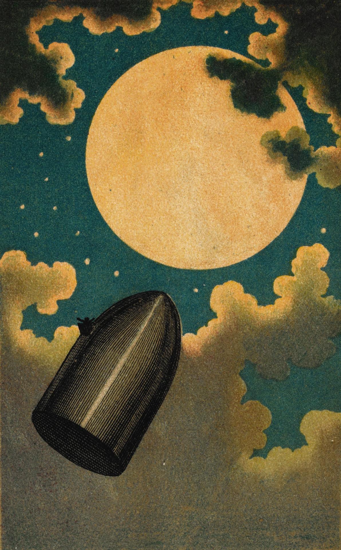Émile-Antoine Bayard's Vivid Illustrations of Jules Verne ...