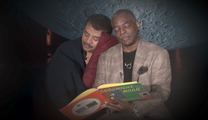 quotgoodnight moonquot as read to neil degrasse tyson by levar