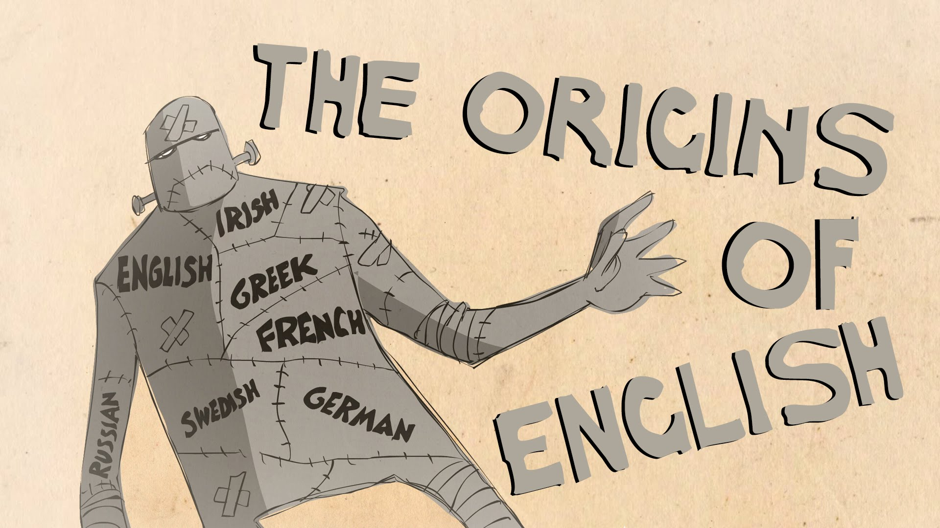 Where Did the English Language Come From?: An Animated Introduction