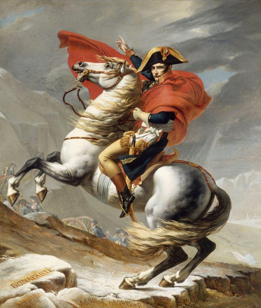 What Makes The Death of Socrates a Great Work of Art? Artes & contextos Jacques Louis David Bonaparte franchissant le Grand Saint Bernard 20 mai 1800 Google Art Project e1509346276711