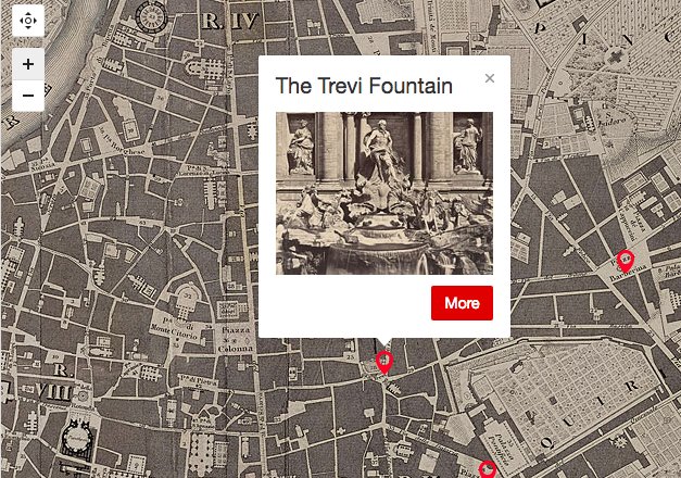 Interactive Map Lets You Take a Literary Journey Through the Historic Monuments of Rome