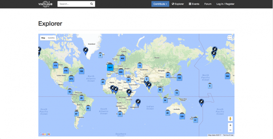 An Interactive Map of Every Record Shop in the World Open Culture